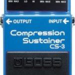 boss cs-3の使い方やセッティング。ベースにも使える?