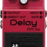 boss dm-2Wの評価レビュー。音作りやセッティング等。