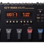 boss GT-100の音作りやセッティング・使い方。