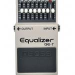 boss GE-7のセッティングや使い方。ブースターとしても使える?